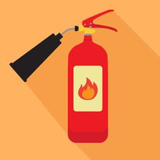 Free Fire Extinguisher Royalty Free Stock Image - 65833696