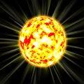 Free Burning Sun Royalty Free Stock Images - 6597639