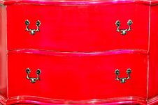 Free Red Drawers Royalty Free Stock Images - 6590119
