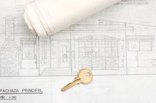 Free New Home Blueprints Stock Image - 6590261