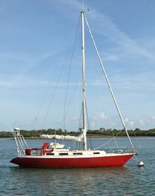 Free Laid Up Sailing Vessel Royalty Free Stock Photography - 6590467
