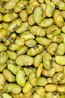 Dry Roasted Edamame Royalty Free Stock Image