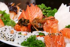 Free Plate Of Seafood Royalty Free Stock Photography - 6591367
