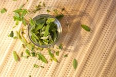 Free Green Tea Freshness Stock Images - 6592114