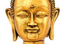 Free Golden Buddha Face Royalty Free Stock Photo - 6592655
