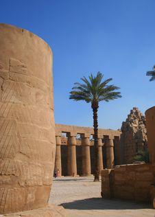 Free Karnak Ruins Stock Photography - 6592672