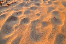 Free Sunset Sand Pattern Royalty Free Stock Photo - 6593115