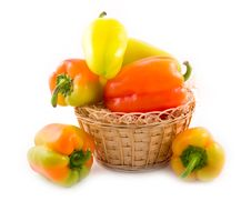Free Red Green Pepper Stock Images - 6594014