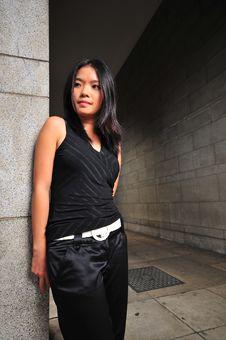 Pretty Asian Girl 2 Stock Photo