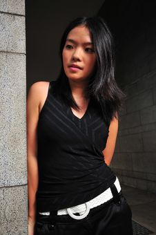 Pretty Asian Girl 3 Stock Images