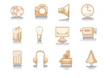 Free Electronics Icon Stock Image - 6594911