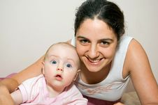 Free Mother And Baby Smiling Stock Photos - 6597243