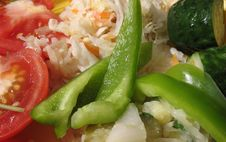 A Vegetabl S Salad Royalty Free Stock Photo