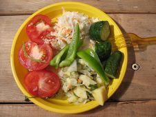 A Vegetabl S Salad Stock Images