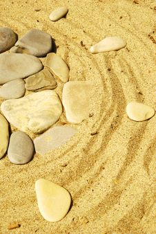 Free Stones On Sand Royalty Free Stock Images - 6598289