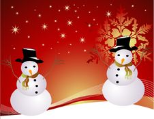 Free Snowman Stock Images - 6598594