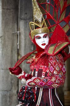 Free Venice Carnival Costume Stock Photography - 6598922