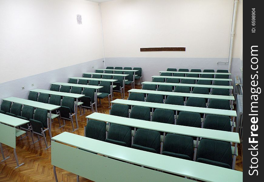 University classroom