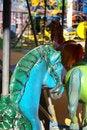 Free Merry Go Round Horse Royalty Free Stock Image - 660276