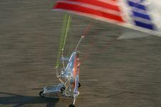 Speed Landing Royalty Free Stock Images