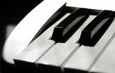 Free MIDI Keyboard Keys Stock Photo - 660090
