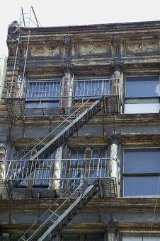 Free New York City Cast Iron Building Stock Photo - 660220