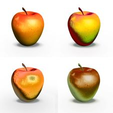 Free Apples Royalty Free Stock Photo - 660405