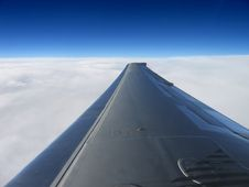 Free Flying At 35,000 Feet Stock Photos - 661223