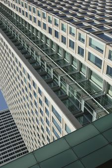 Highrise Without Sky Royalty Free Stock Images