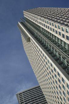 Highrise With Sky Stock Photos