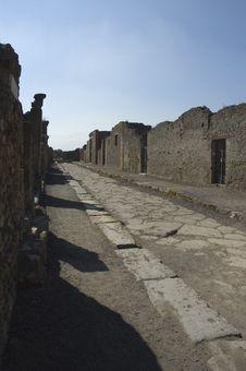 Free Pompei_Roman_Antiquites Stock Image - 661391