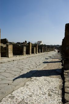 Free Pompei_Roman_Antiquites Royalty Free Stock Image - 661466