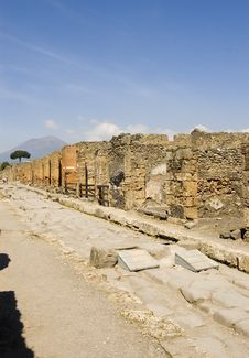Free Pompei_Roman_Antiquites Royalty Free Stock Photography - 661567
