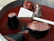 Free Fresh Tuna Fish Royalty Free Stock Image - 661616