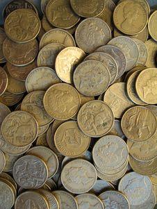 Free Australian Dollar 2 Royalty Free Stock Image - 662116