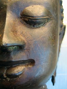 Free Buddha Face Royalty Free Stock Photo - 662265