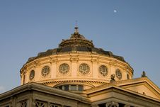 Free National Romanian Atheneum Close-up Royalty Free Stock Images - 662309