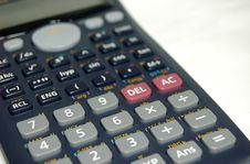 Free Calculator Royalty Free Stock Photography - 662367