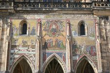 Free  The Last Judgment  Mosaic, St Vitus Cathedral Royalty Free Stock Image - 662456