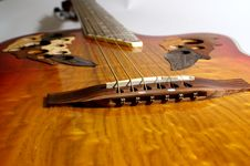 Free Guitar Bridge Stock Photos - 662463