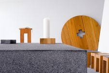 Free Modern Chapel Details Royalty Free Stock Images - 663029