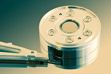 Free Heart Of The Hard Disk Stock Photography - 663382