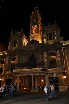Free Valencia City Hall Royalty Free Stock Images - 663989