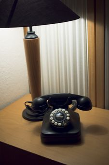 Free Lobby Telephone Stock Photo - 664490