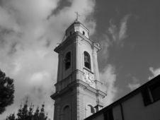 Free Catholic Church Near Genoa, Italy Royalty Free Stock Photography - 664827