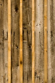 Close-Up Of Rough Wood Siding Royalty Free Stock Photography