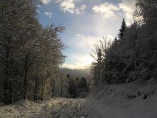 Free Snow Road Stock Photos - 666193
