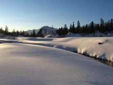 Free Winter In Mountain Kavkaz Royalty Free Stock Photo - 666245