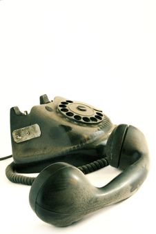 Free Grunge Phone Royalty Free Stock Images - 666419
