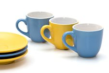 Free Coffe Cups Royalty Free Stock Photography - 666457